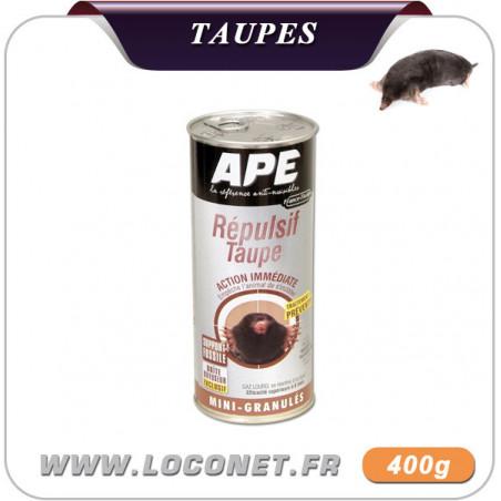 Granulés répulsives pour éloigner taupes - APE