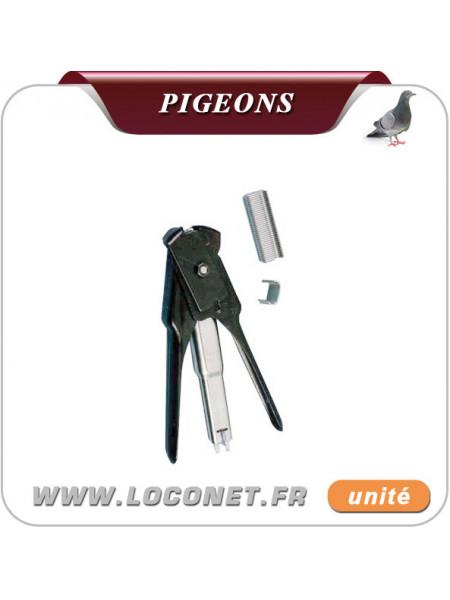 Agrafeuse pour filets anti pigeons