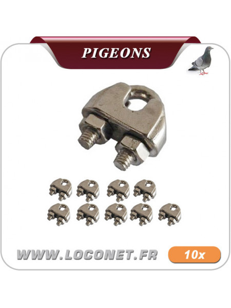 Etrier pour filets anti pigeon