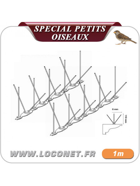 Pic anti moineaux et oiseaux ULTRA 2 - 1 mètre