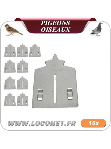 Répulsif à oiseaux pour toiture - Lot de 10  - STOPIG anti oiseaux