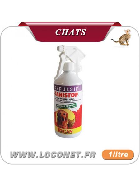 Répulsif liquide pour chat pour jardin - CANISTOP