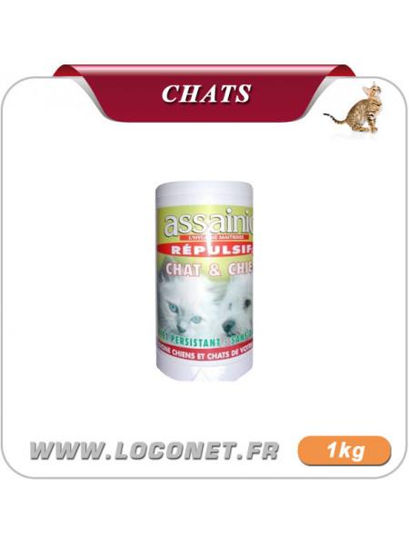 Produit contre les chats  - ASSAINIC GRANULES contre chats