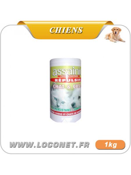 Répulsif d'extérieur pour chien  - ASSAINIC GRANULES anti chien