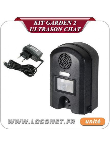 Pack Ultrason + Chargeur contre chats