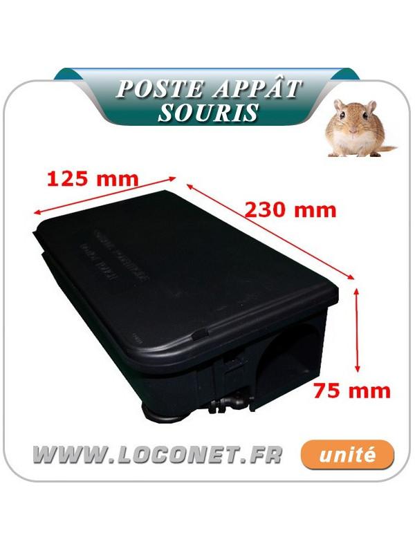 Poste d'appâtage sécurisé pour les souris Coral