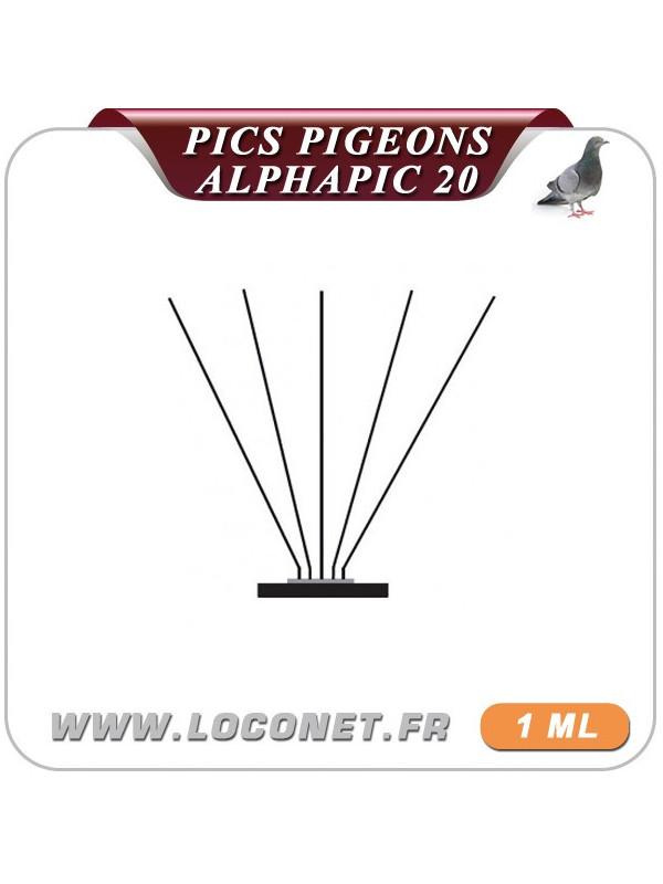 Alphapic 20 : Pics pigeons, mouettes et goélands, protection de 15 à 20 cm