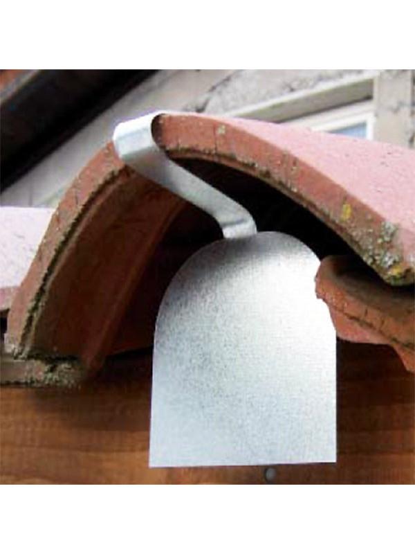 Obturaclips, obturateur de tuiles acier galvanisé - Lot de 100