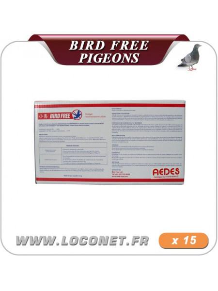 Gel d'éloignement contre les pigeons - Bird Free - Lot 15 coupelles
