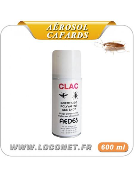 Aérosol / Produit à cafards - CLAC ONE SHOT