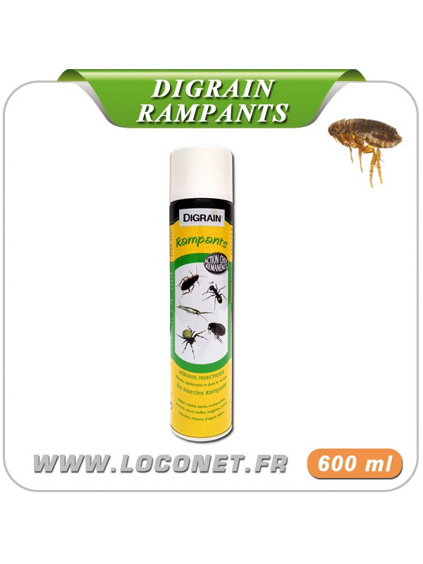 Aérosol contre les insectes rampants DIGRAIN - 600 ml