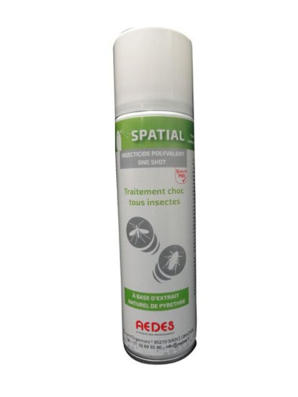 Aérosol insecticide bio anti mouches efficace - PYRETHRE