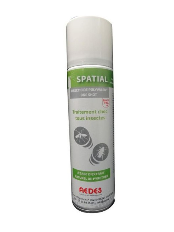 Aérosol insecticide bio pour détruire guêpes et frelons - PYRETHRE
