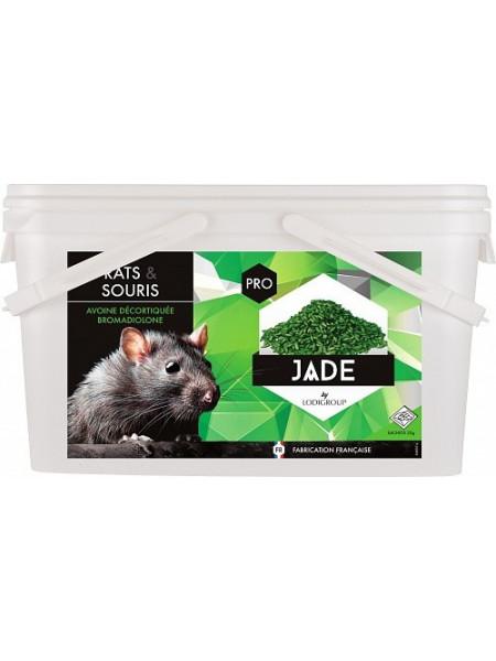 JADE GRAIN Raticide céréales sur avoine décortiquée 0,005% Bromadiolone - 10 Kgs