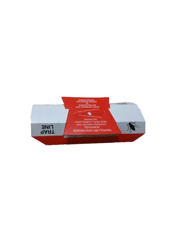 Blattathor - 25 pièges à glu cafards blattes avec attractifs intégrés