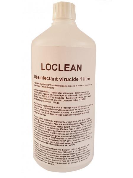 LOCLEAN Désinfectant virucide  Bidon 1 L concentré contre COVID-19