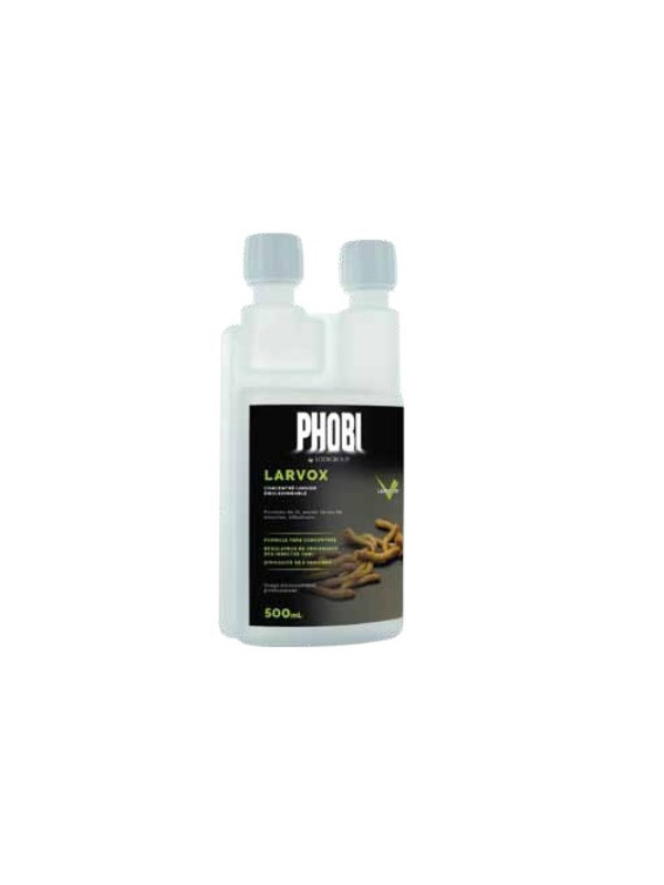 Phobi Larvox Larvicide insecticide puces, punaises de lit, mouches - 500 mL
