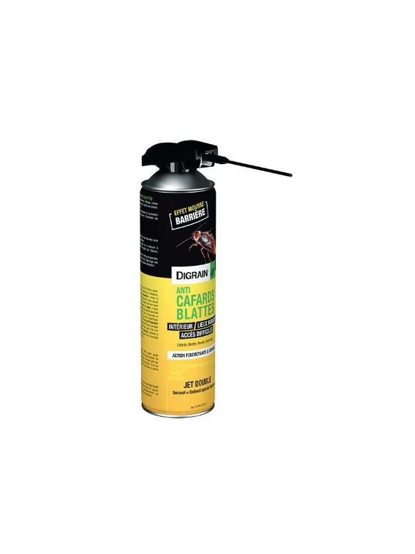 Digrain Insecticide aérosol Cafards et Blattes double jet - 500 ml