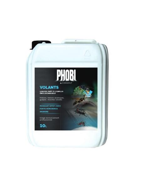 Phobi Volants  Insecticide en 5 litres - Pour la lutte contre Guêpes, Frelons asiatiques