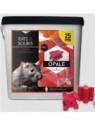 Raticide OPALE en BLOC DIFENACOUM 25 PPM - Sceau 5 kilo