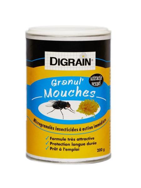 Granulés anti mouche - Digrain Granul'Mouches 200 grs