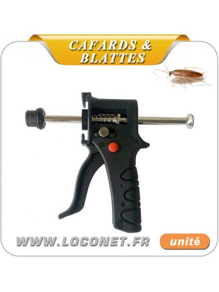 Pistolet d'application pour gels anti cafards