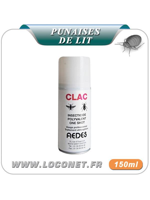 Aérosol insecticide contre punaises de lit - CLAC ONE SHOT
