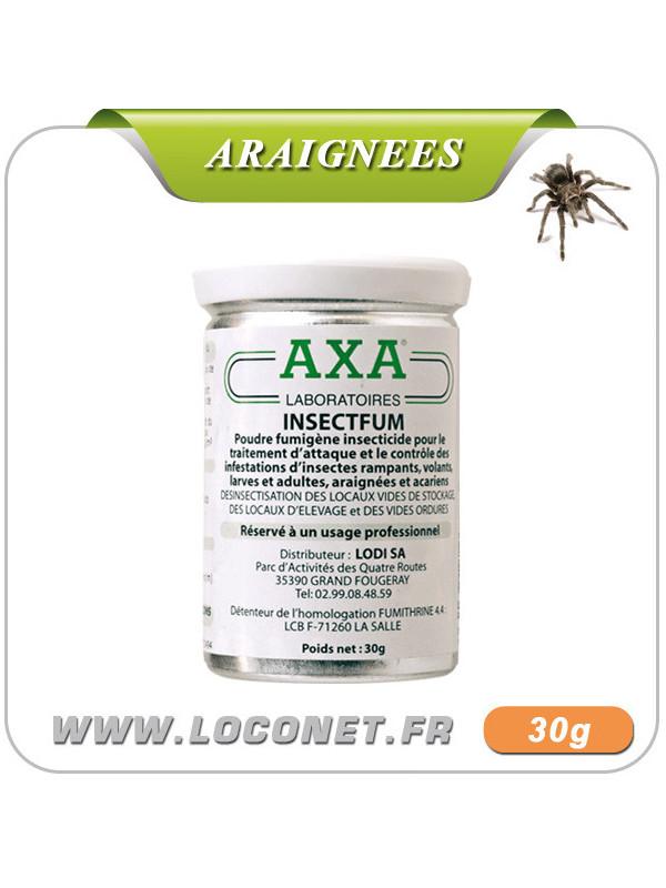 Fumigène insecticide anti araignées - AXA INSECTFUM