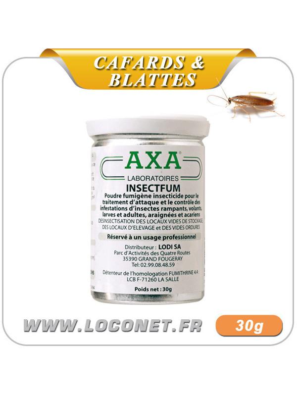 Fumigène insecticide - AXA INSECTFUM