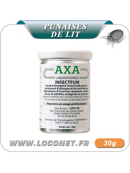 Fumigène insecticide pour traitement de la puce de lit - AXA'INSECTFUM