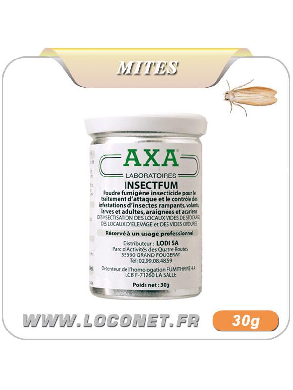 Fumigène / Traitement anti mite alimentaire et textile - AXA INSECT'FUM