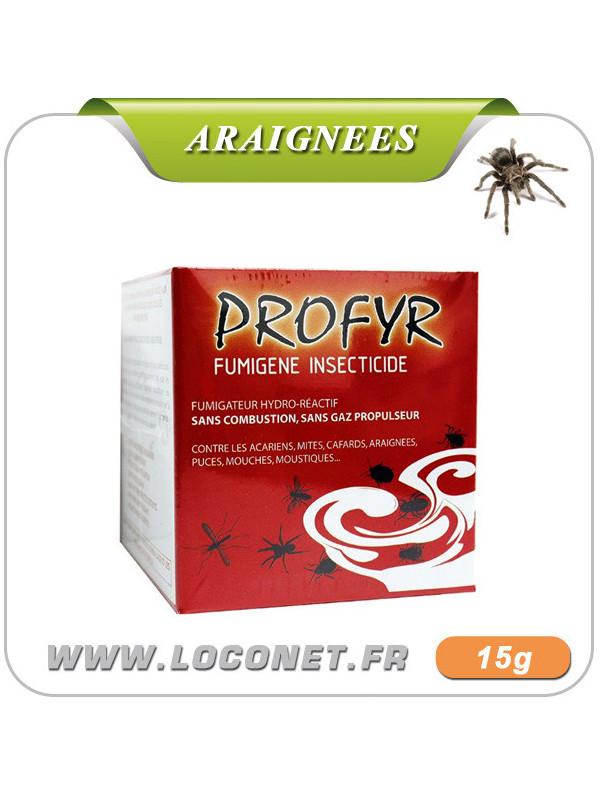 Fumigène insecticide anti araignées - PROFYR