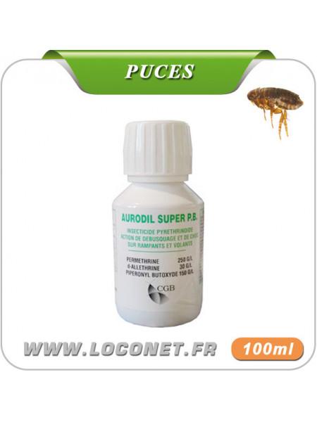 Insecticide liquide anti puces pour la maison AURODIL SUPER PB